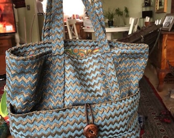 Sewing Instructions - Cleo Tote Bag