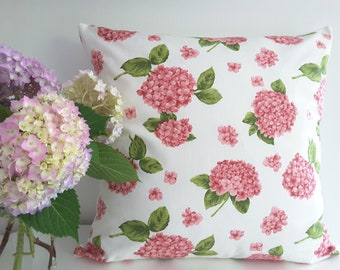 "Cushion cover ""Blue Hydrangeas"""
