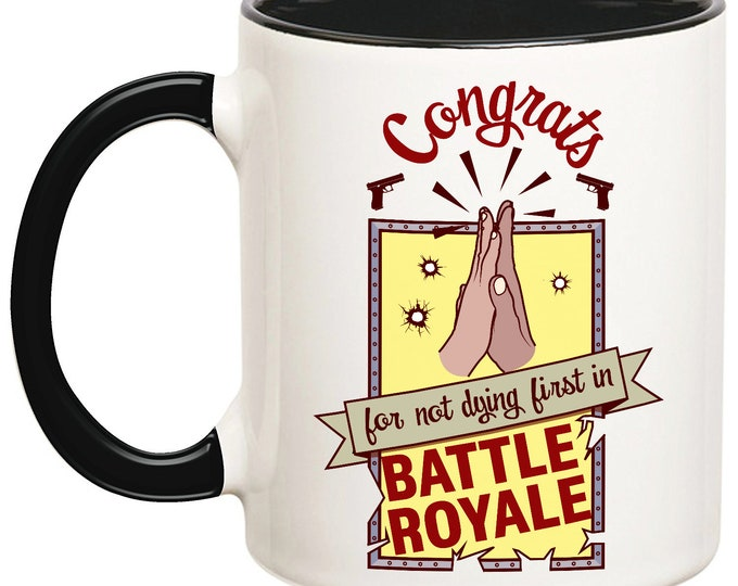 Congrats Battle Royale Mug