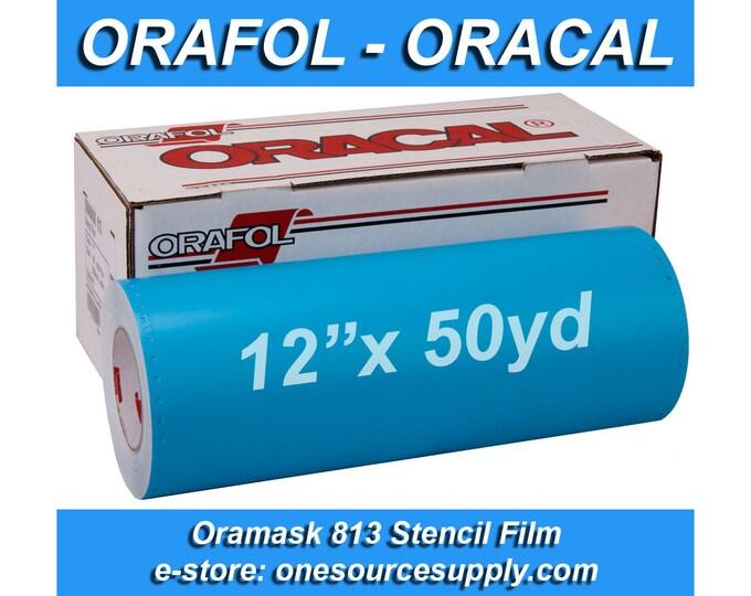 """1 roll 12""""x 50 yards* Oracal 813 Oramask Stencil Vinyl"""