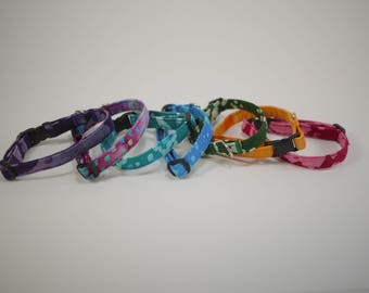 "Breakaway 3/8"" Cat collars"