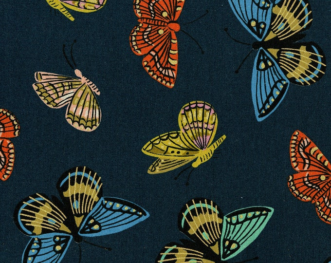 PRESALE: Monarch (Navy CANVAS - METALLIC) from English Garden by Rifle Paper Co.