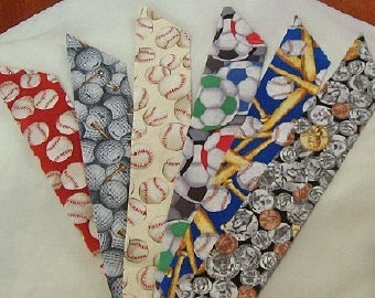 Sports Fan Cooltie Rainbow ---- your choice of fabrics