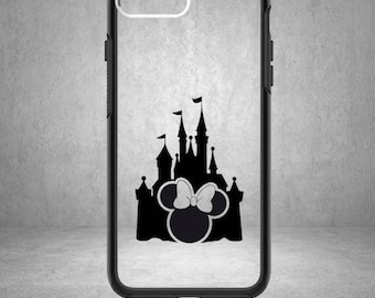 Minnie Mouse Decal, Minnie Decal, Disney Minnie Mouse Sticker, Disney Minnie Decal, Phone Cover, Disney Stickers, Disney Vinyl Decals,Castle