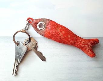 Key fish, goldfish, OOAK