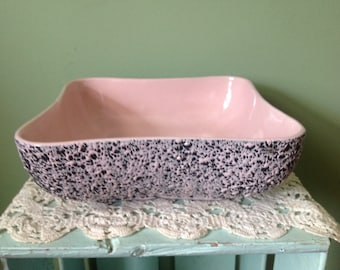 Shawnee Kenwood Pink/Black Console Bowl