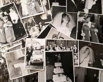 Vintage 1960s Wedding Album