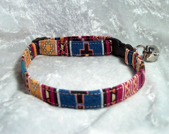 Southwest Designer Colors Cat Collar