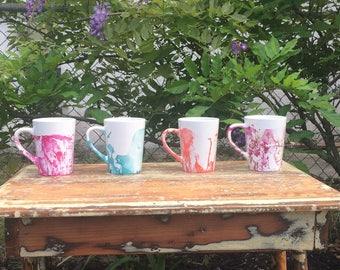 Marble DIY Coffee Mugs