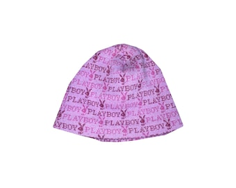 Playboy Full Print Beanie Hat | 2000s Clothing