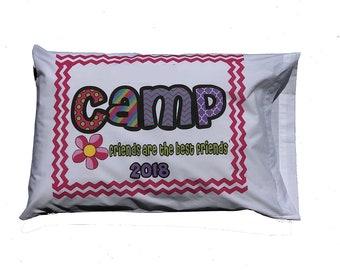 Customized Chevron Camp Standard Pillowcase
