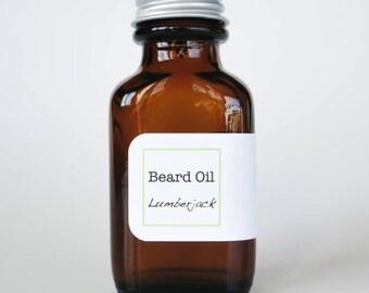 Moisturizing Beard Oil - Lumberjack