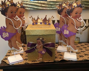 Royal baby girl  princess centerpiece