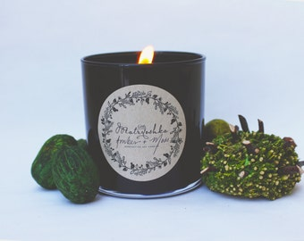 Amber + Moss Candle