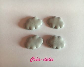 Cloud grey decoration