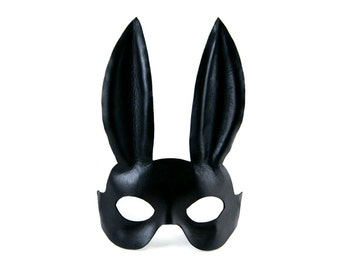 Leather Rabbit / Bunny Mask