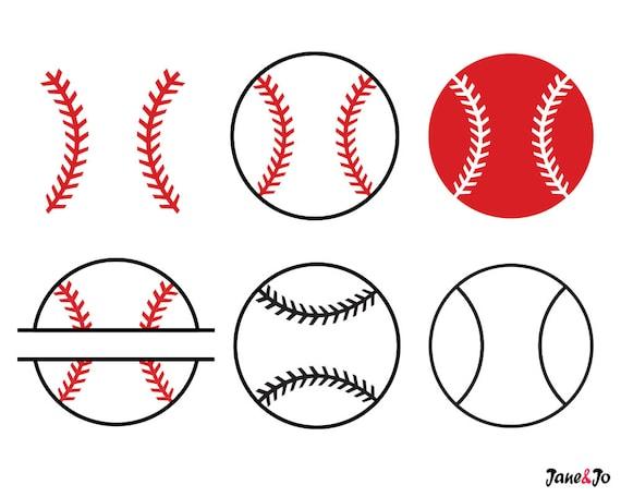 Download Baseball SVGBaseball SVG Cut filesBaseball monogram for