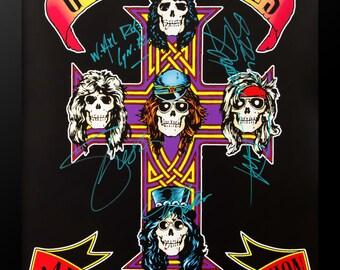 Guns N' Roses Signed Poster