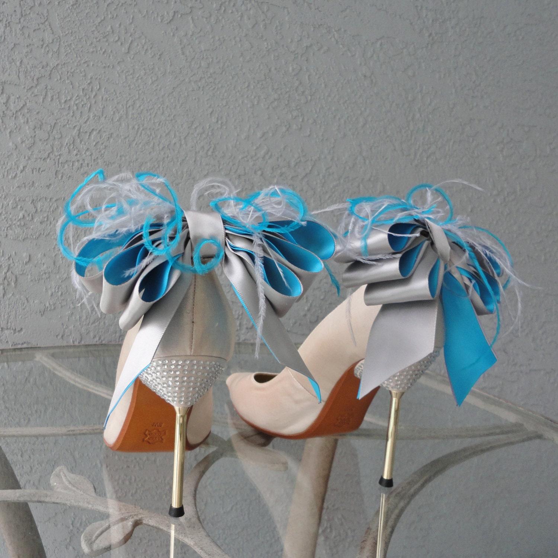 Adornos Para Los Zapatos Lazos De Cinta De Satin Para Bodas Y ~ Lazos De Cinta De Raso Paso A Paso