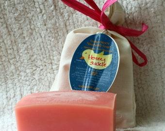 "Honeysuckle scented ""Everyday Soap"" Handmade Cold Process Homemade"