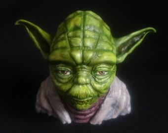 Yoda bust Yoda statue Star Wars Bust Jedi Bust