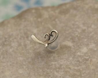 16 Gauge Cartilage - Cartilage Stud 16g - 16 Gauge Helix Stud - Cartilage Earring - 16g Helix Piercing - Helix 16 Gauge Stud - Helix Backing