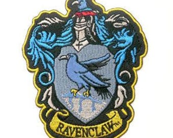 HARRY POTTER RAVENCLAW Embroidered Robe Iron On Patch
