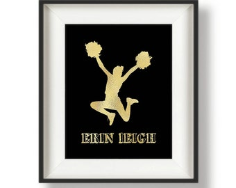 Personalized Cheerleading Gifts - Cheerleader Gifts - Cheer Gifts - Gifts for Cheerleaders -  Cheer Captain Gifts