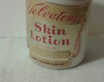 Velvatone Skin Lotion Jar
