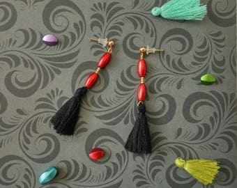Pearl Earrings and tassels