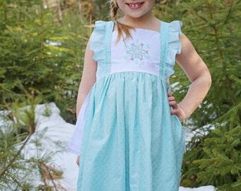 Elsa Dress, Elsa Play Dress, Frozen Dress, Elsa Birthday Dress, Princess Dress, Disney Princess, Boutique Dress