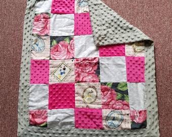 Disney Princess Baby Girl Minky Blanket