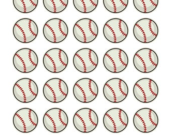 Baseball Stickers (planner stickers)