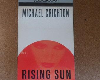 Rising Sun Audiobook-Michael Chrichton-Book on tape