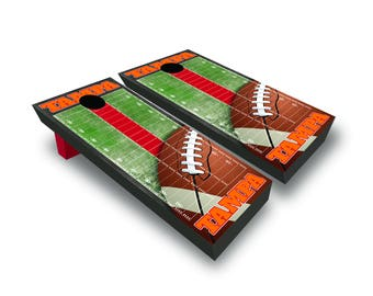 Corrugated Tampa Bay Football Corn Hole Game