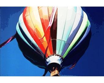 Balloon 1 - color photography