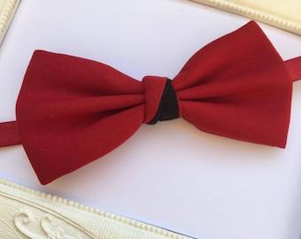 Elegant bow tie Scarlet Red