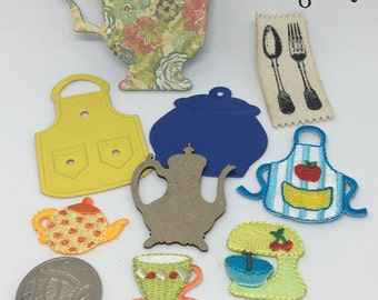 Embellishment pack - cooking/kitchen theme