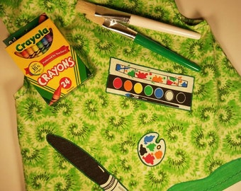 Toddlers Artist Smock Set
