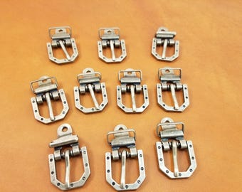 Small Buckle / Small Buckles / Antique Finish Buckles / Bracelet Buckles / Pack of 10 Buckles