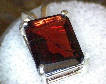 Stunning Spessartite Garnet Pendant