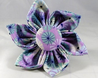 Dog Flower, Dog Bow Tie, Cat Flower, Cat Bow Tie - Sea Holly