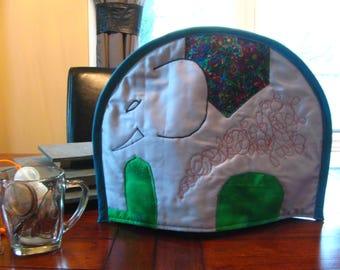 Elephant tea cozy