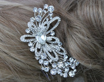 Rhinestone and Crystal Elegant Hair Comb