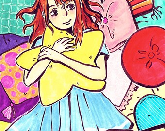 Star Bright - Zoe in Dreamland A5 350gsm Digital Print
