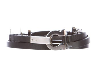 Salvatore Ferragamo Leather Hip Belt