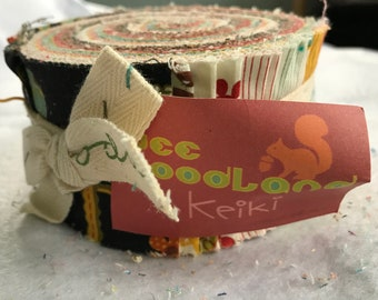 Wee Woodland Jelly Roll by Keiki for Moda