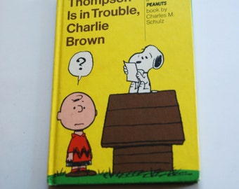 Vintage Book, Thompson is in Trouble, Charlie Brown