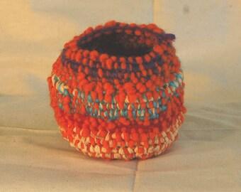 Orange shark egg basket