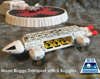 Dinky Space 1999 Eagle Moonbuggy Transport Pod
